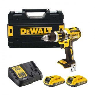 DeWalt DCD795D2 Cordless 18V Brushless Combi Drill Set
