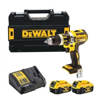 DeWalt DCD795P2 Cordless 18V Brushless Combi Drill Set