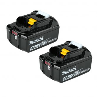 Makita bl1840b 4ah lxt battery twin pack