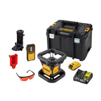 DCE074D1R Red Laser Leveling Kit