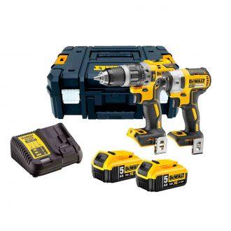Dewalt DCk266-p2t pack drill+ impact wrench