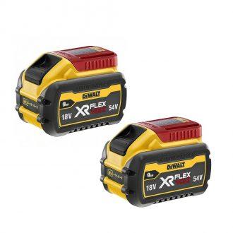 DeWalt DCB547-2 2x9Ah Batteries