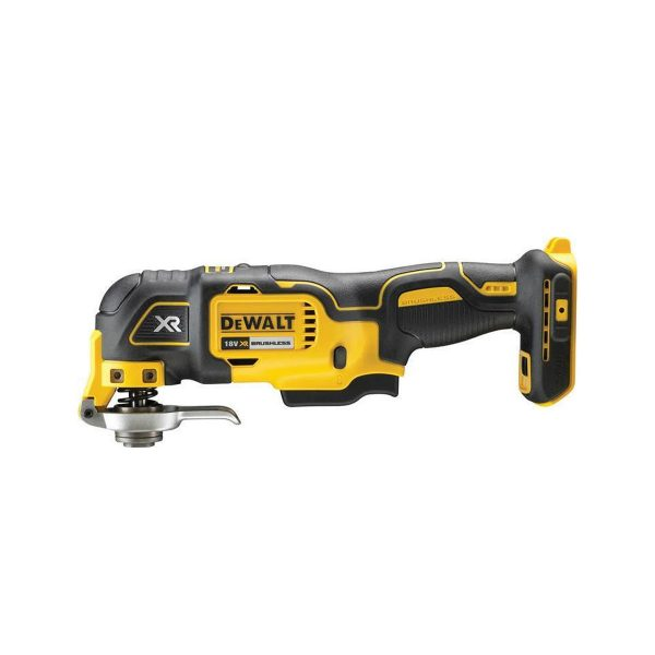 DCS356N Oscillating Tool with Accessories side view