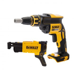 brushless cordless drywall screwdriver dcf620n wit dcf6202 attacment