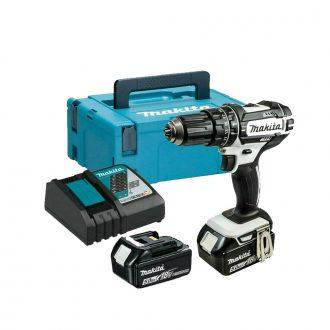 Makita DHP482RTWJ Combi Drill Set