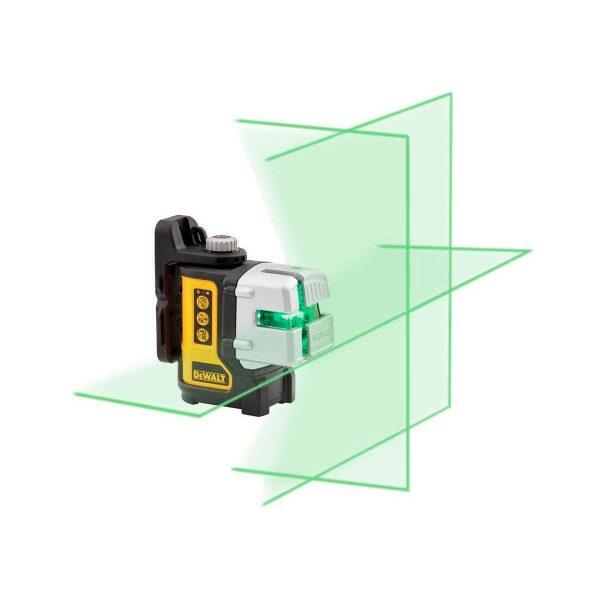 dw089cg dewalt green laser level ip54 3 lines