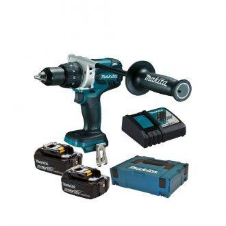 Makita DDF481RTJ Combi Drill Set