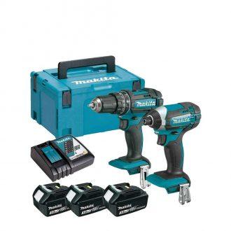Makita DLX2131JX1 Power Tool Twin Pack