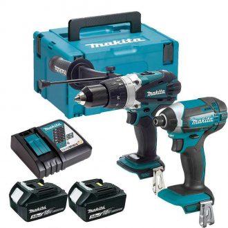 Makita DLX2145FJ Power Tool Twin Set