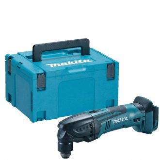 Makita DTM50ZJ Cordless 18V Multi Cutter Set with MAKPAC3 Type 3 Carry Case