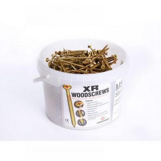 Concept XR Gold Professional Woodscrews TUBS