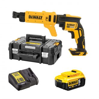 dewalt dcf620p1k cordless collated drywall screwdriver with attachment