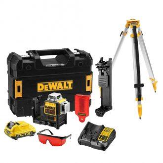 DeWalt DCE089D1R Laser Set and DE0736 Tripod