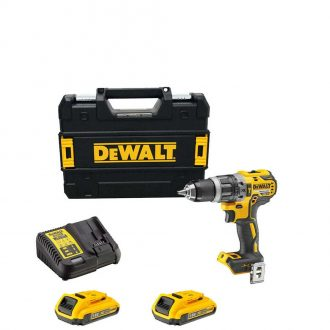 DeWalt DCD796D2 Cordless 18v XR Brushless Combi Drill Set with 2x2Ah Batteries