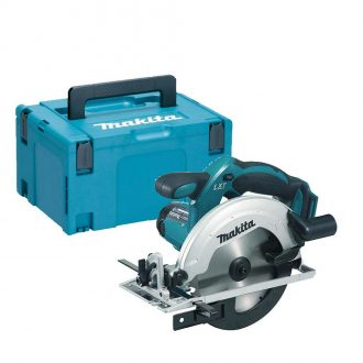 Makita DSS611ZJ Cordless 18V 165mm LXT Circular Saw Body Only with MAKPAC 3 Case
