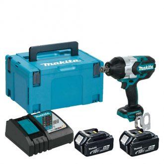 Makita DTW1001RTJ Cordless 18V Brushless Impact Wrench Set MAKPAC 2 Box