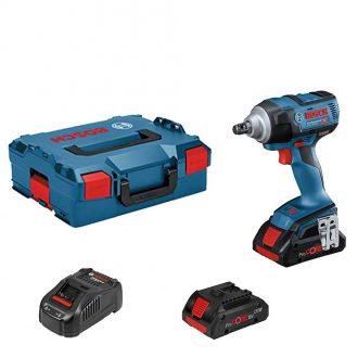 Bosch 0 601 9D8 270 Impact Wrench Set