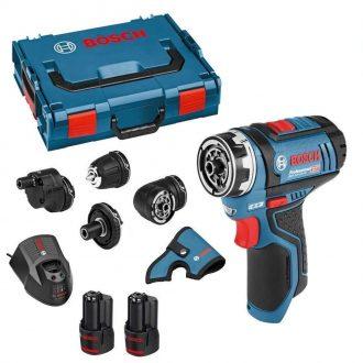 Bosch 0 601 9F6 070 Drill Driver Set
