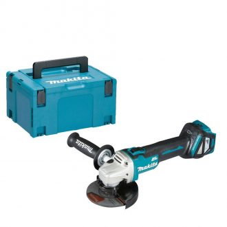 Makita DGA511Z Angle Grinder and Carry Case