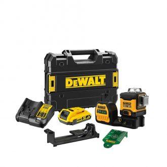 DeWalt DCE089D1G18 Cordless Laser Set with Case