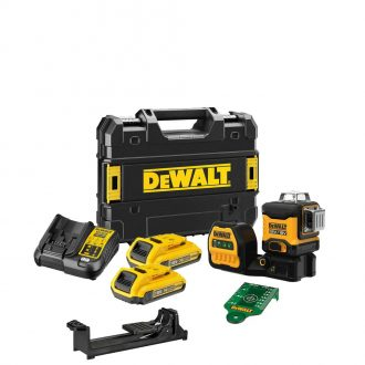 DeWalt DCE089D2G18 Cordless Laser Set with Case