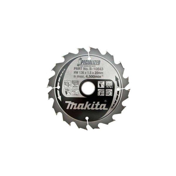 makta circular saw blade B-10643