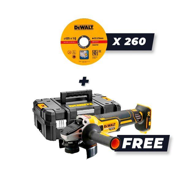 DVS Promo cutting discs + free angle grinder